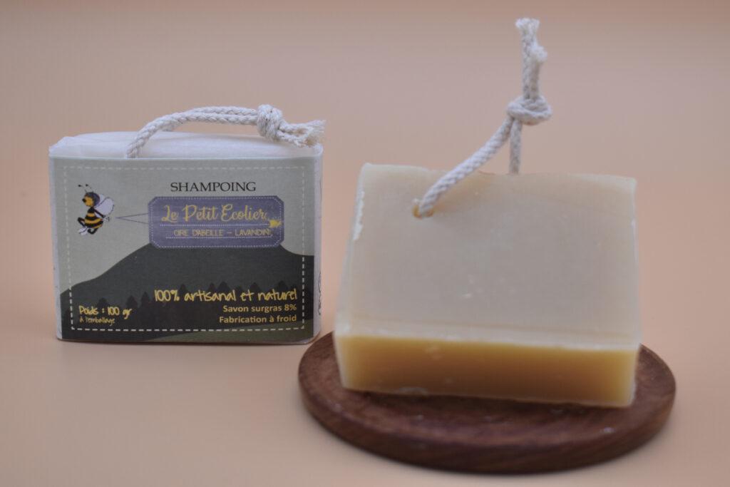 savon shampoing lavande