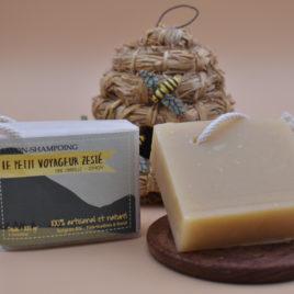 savon shampoing à la cire d'abeille