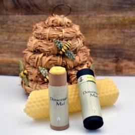 Stick à lèvres à la cire d'abeille