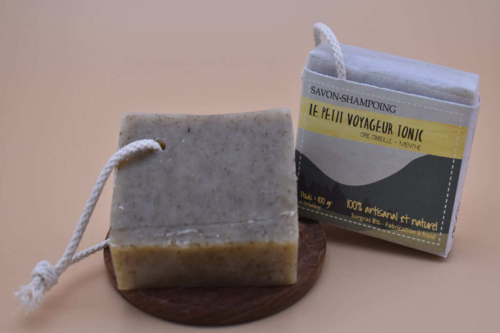 savon shampoing cèdre romarin menthe