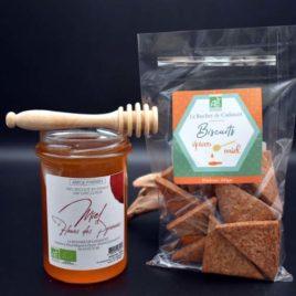 Biscuits au miel et aux épices